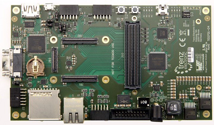 TE0701 carrier board